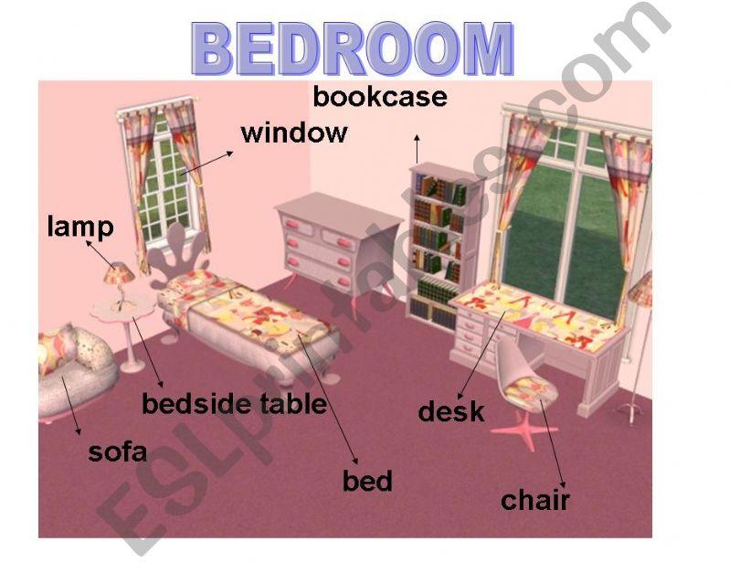 My bedroom powerpoint