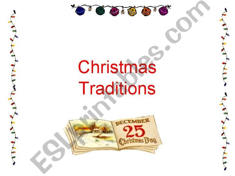 Lesson_Christmas Traditions_ppt