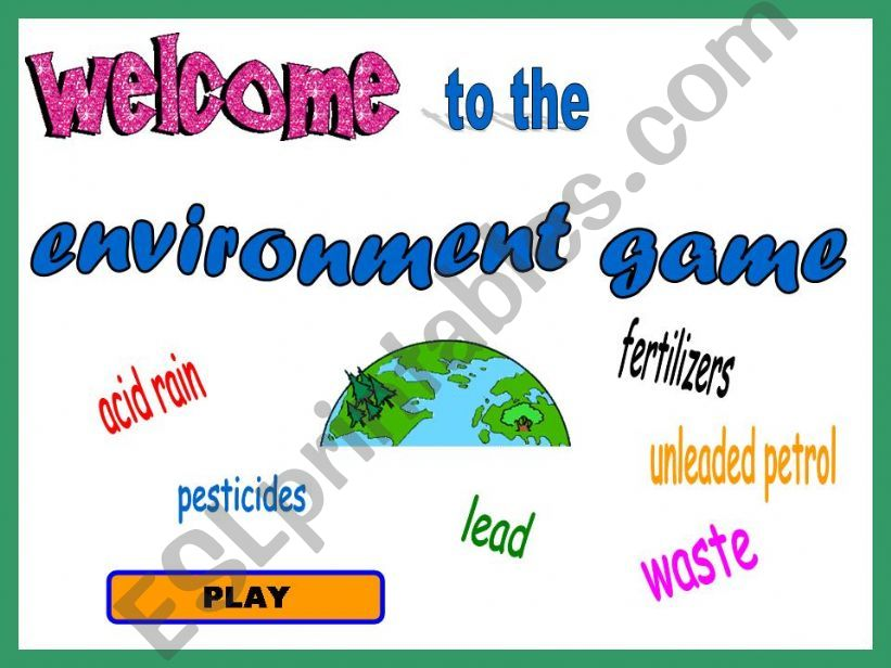 Environment powerpoint