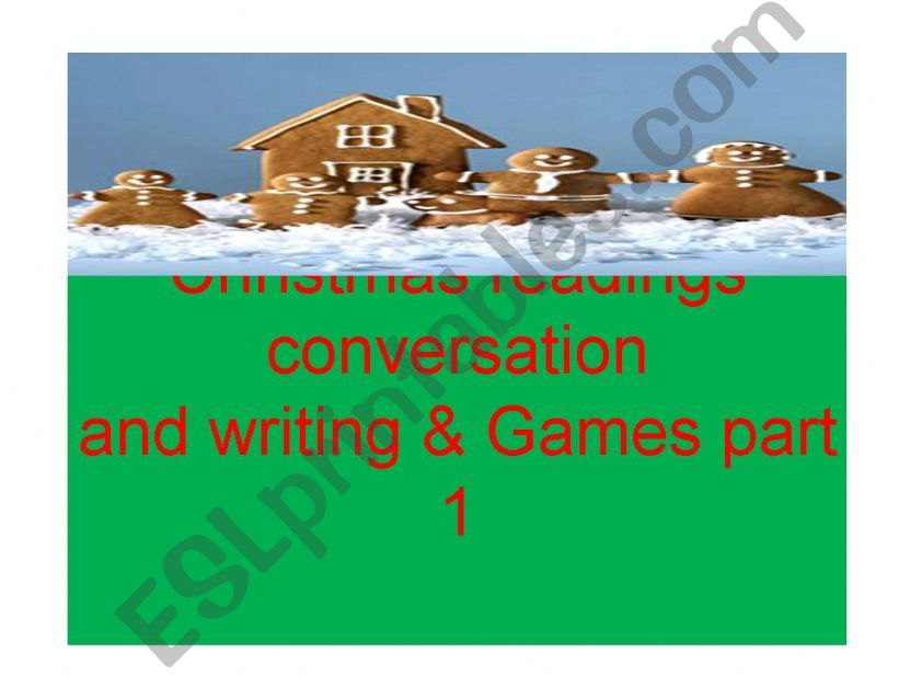 Christmas games comprehension writing and lesson plan ideas part 1