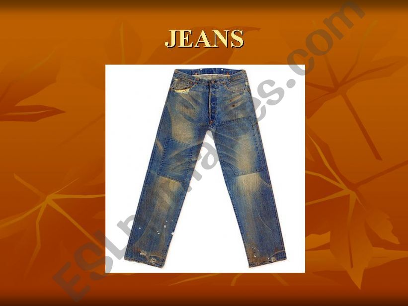 clothes ppt powerpoint