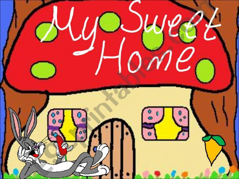 Bunny´s home powerpoint