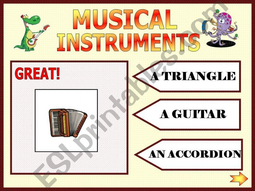 Musical instruments part 2 powerpoint