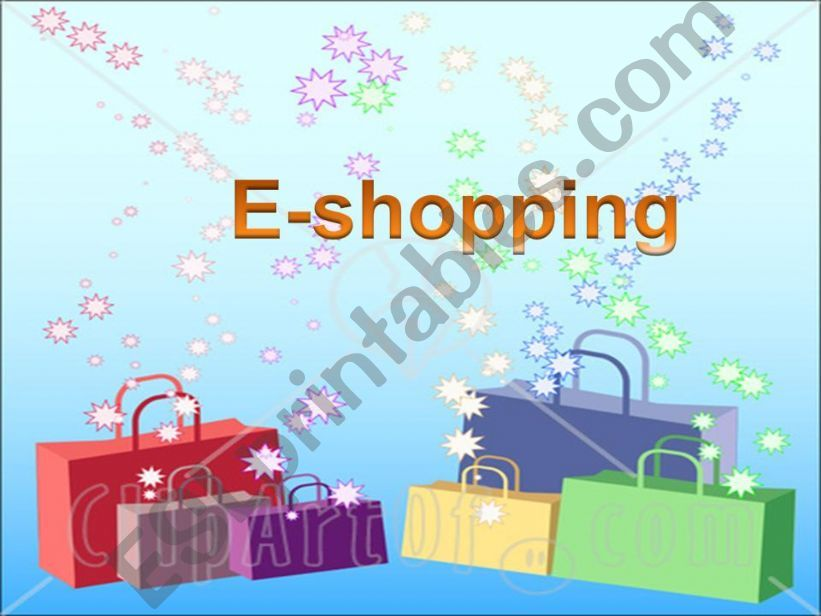 e-shopping powerpoint