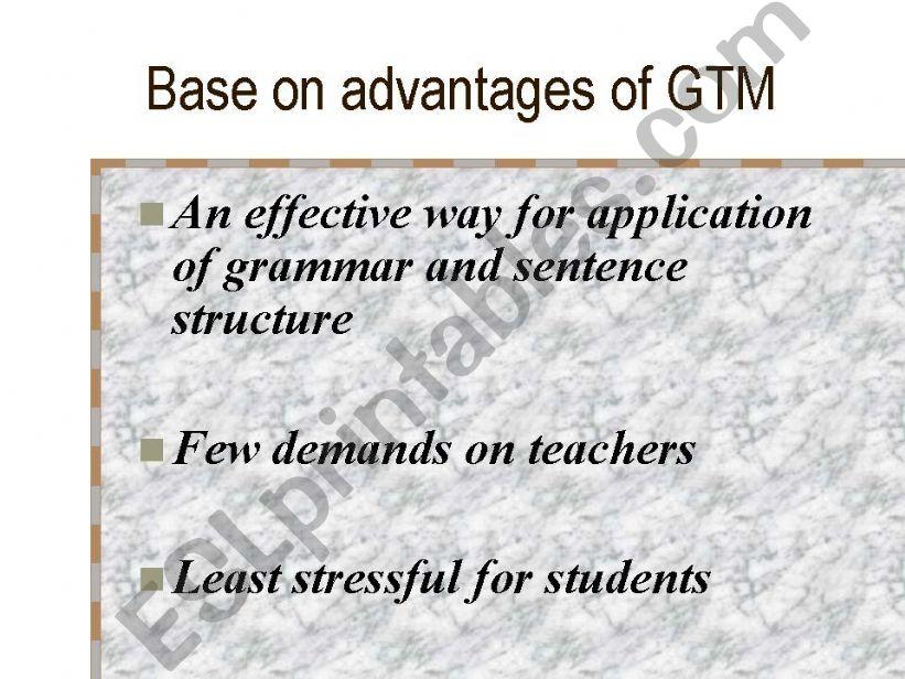 ESL English PowerPoints Grammar Translation And Audio