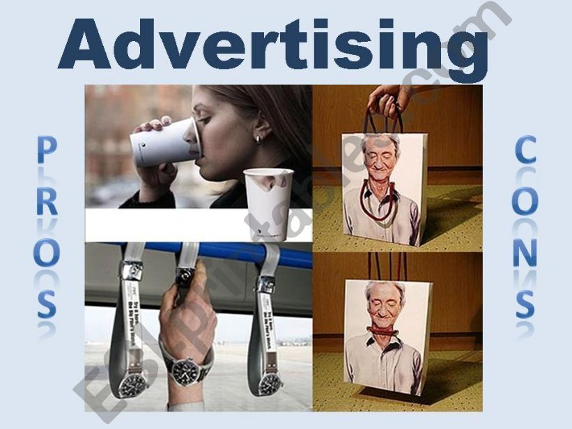 Advertising - Pros and Cons powerpoint
