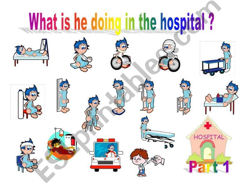 What is he doing in the hospital? part1 - Game