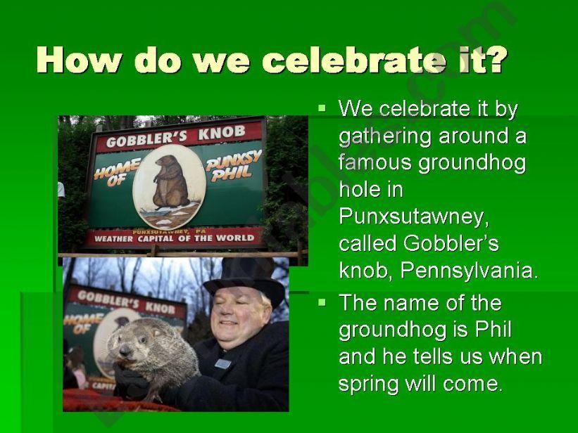 Groundhog day 2 powerpoint