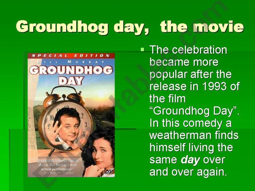 GROUNDHOG DAY 3 powerpoint