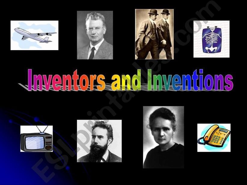 Inventions and inventors powerpoint