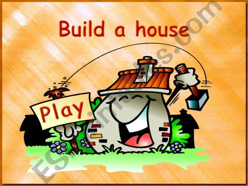 Build a house (to be) - part 1