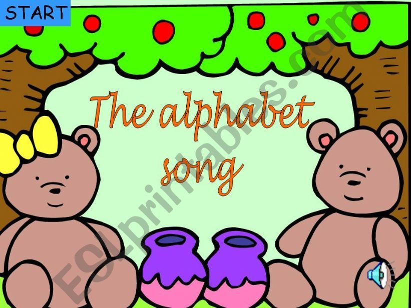 The Alphabet song powerpoint