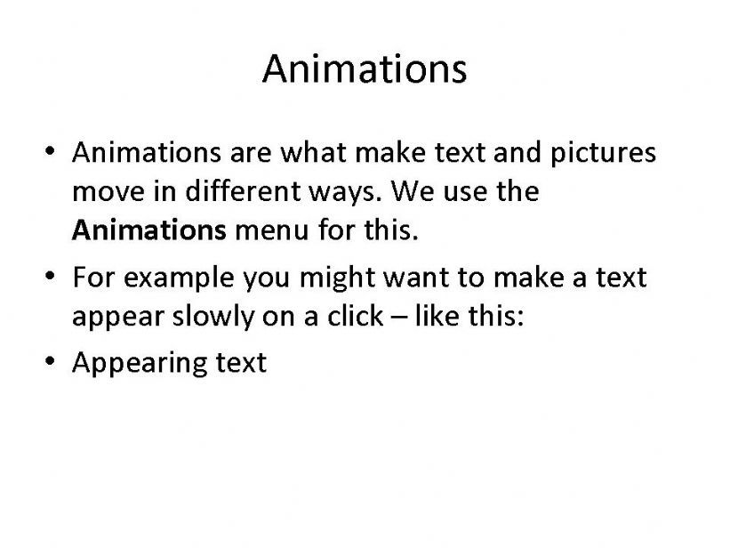 Powerpoint Tutorial Part 2 powerpoint