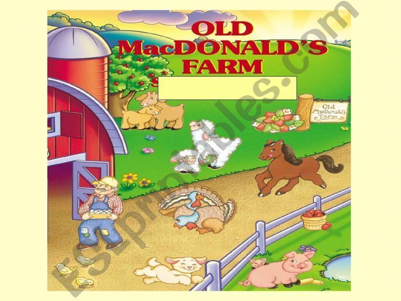 Old MacDonald´s Farm powerpoint