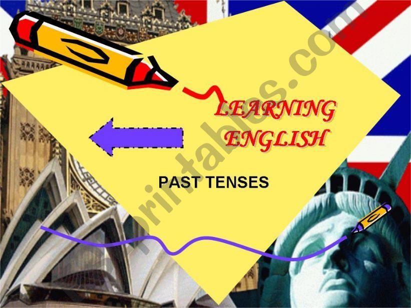 Past Tenses Grammar Guide powerpoint