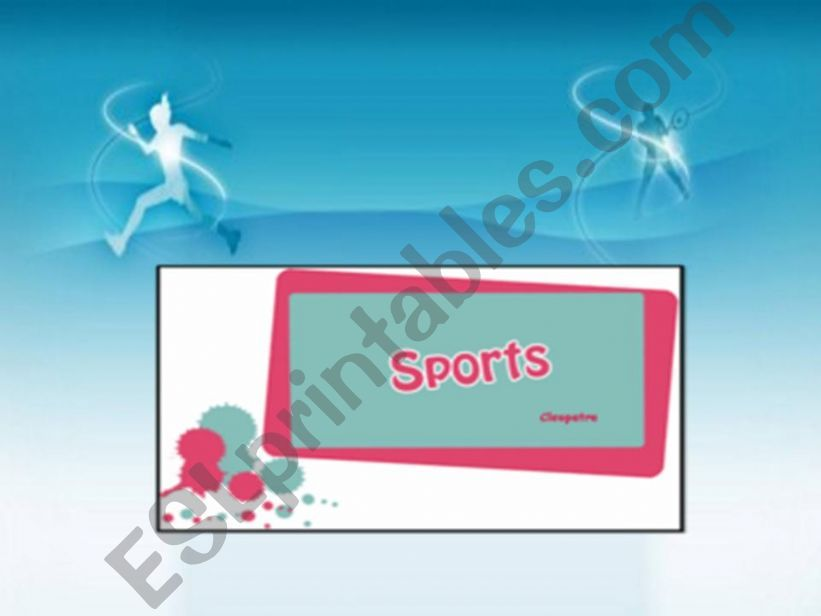 sports(part1) powerpoint
