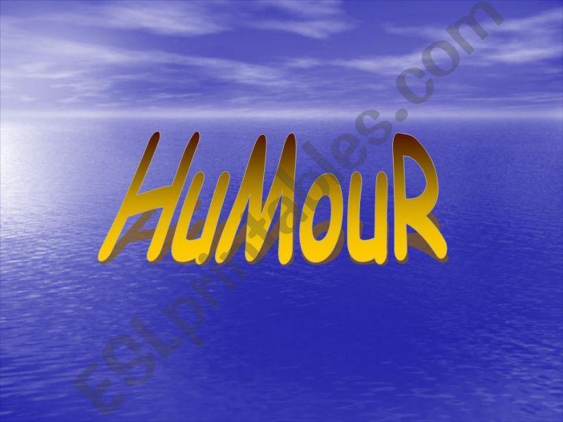 HUMOUR powerpoint