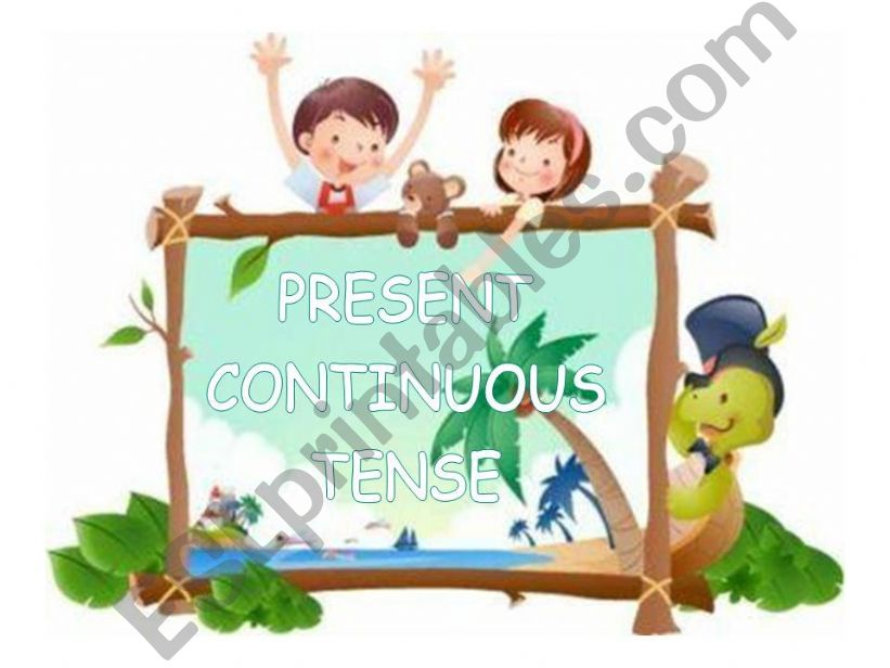 Present Continuous Tense - Game
