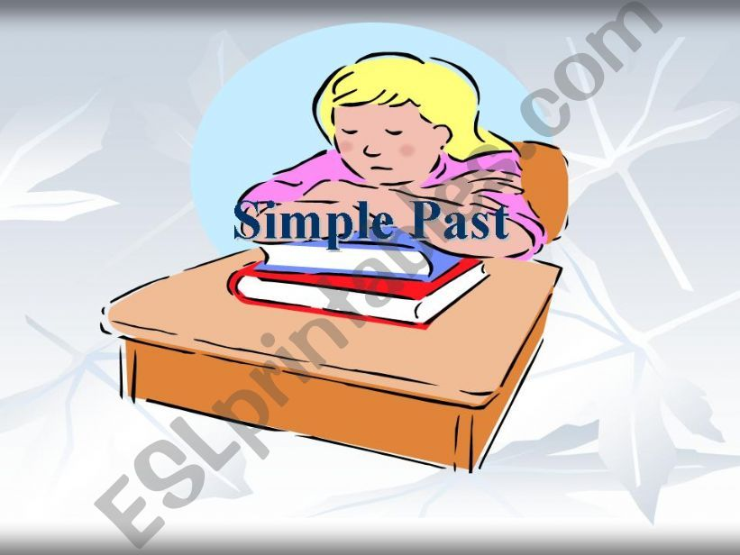 Simple Past - Past Simple powerpoint