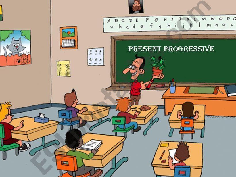 Present Progressive powerpoint