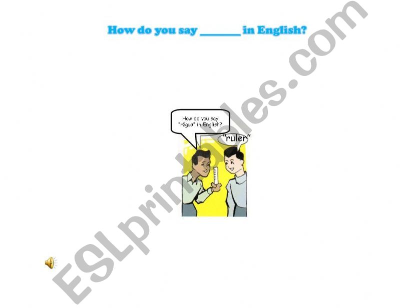 Classroom language_part 7 powerpoint