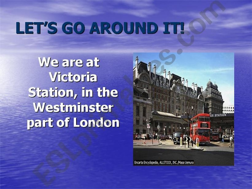 LONDON - THE CAPITAL OF THE UK  (PART 2)