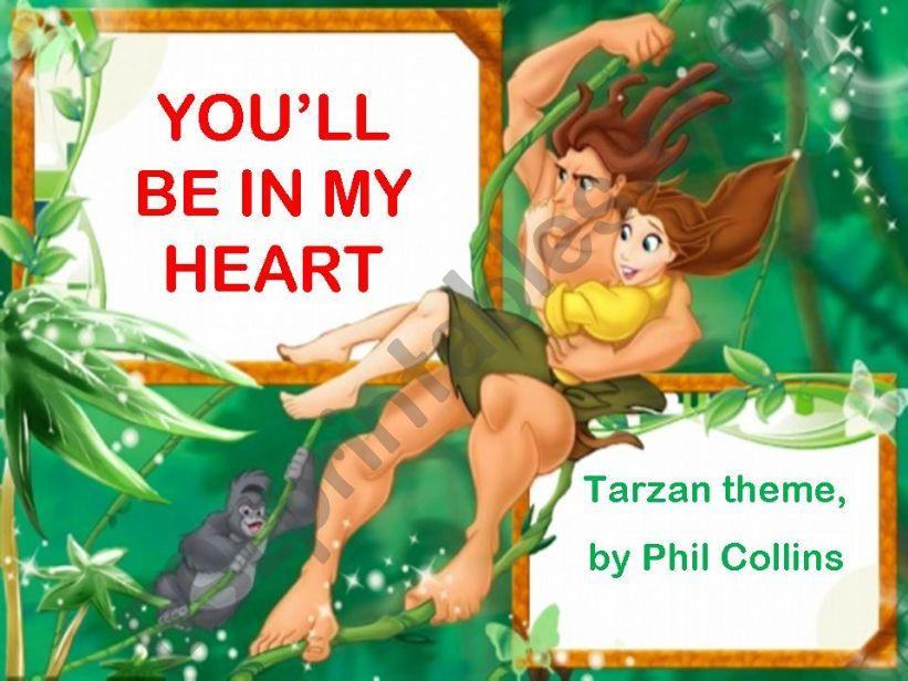 LCP - You´ll be in my heart powerpoint