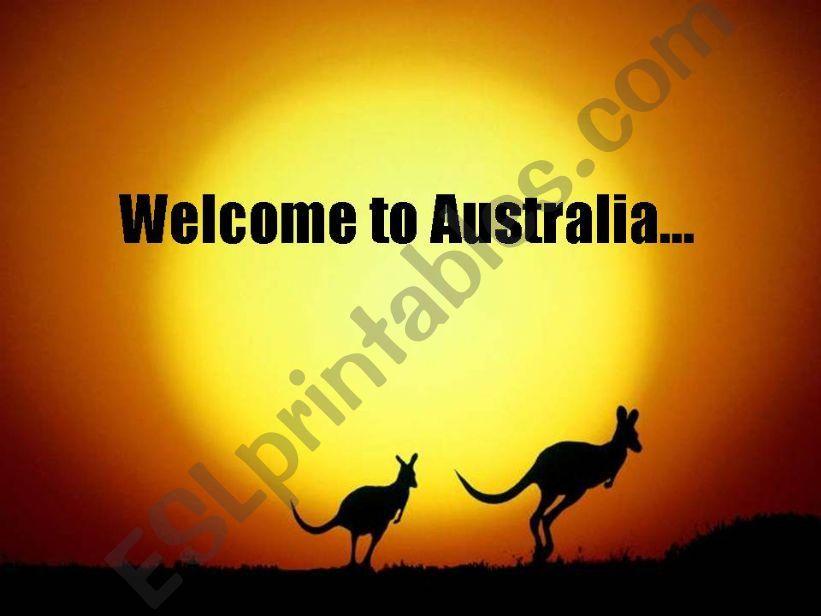 Australian cities powerpoint