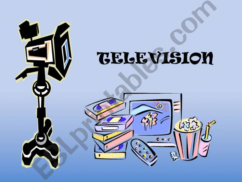 television powerpoint