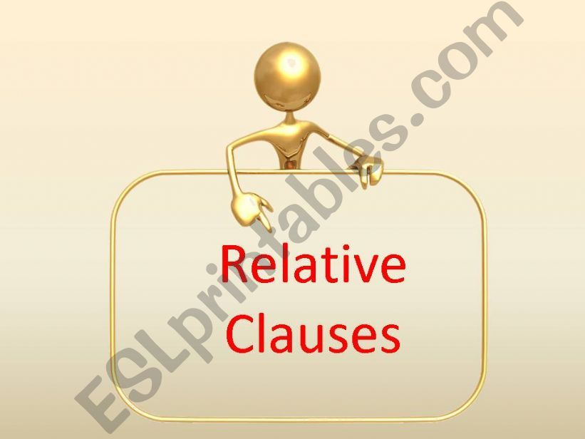 Everything you wanted to know about relative clauses and was afraid to ask!