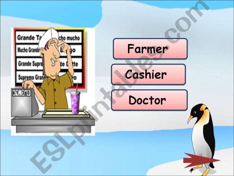 Jobs Game ( part 1 ) powerpoint