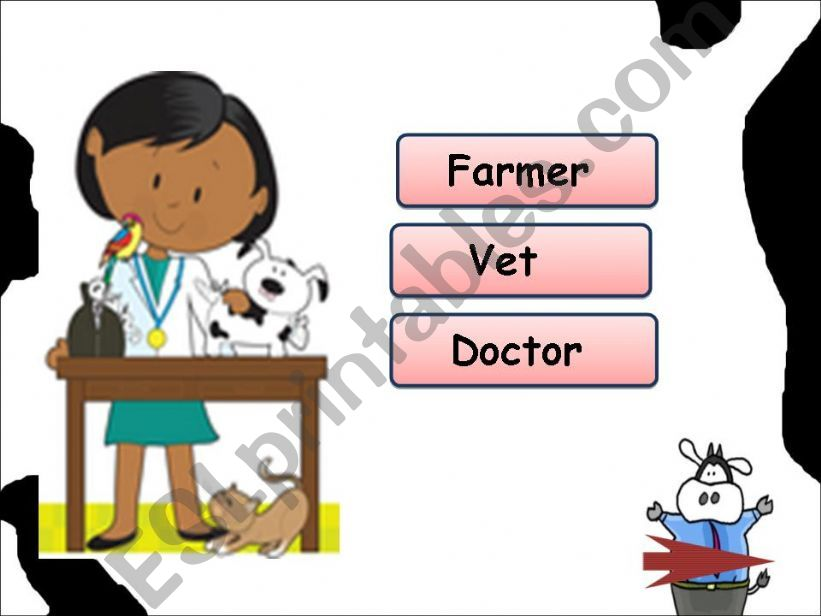 Jobs Game ( part 2 ) powerpoint