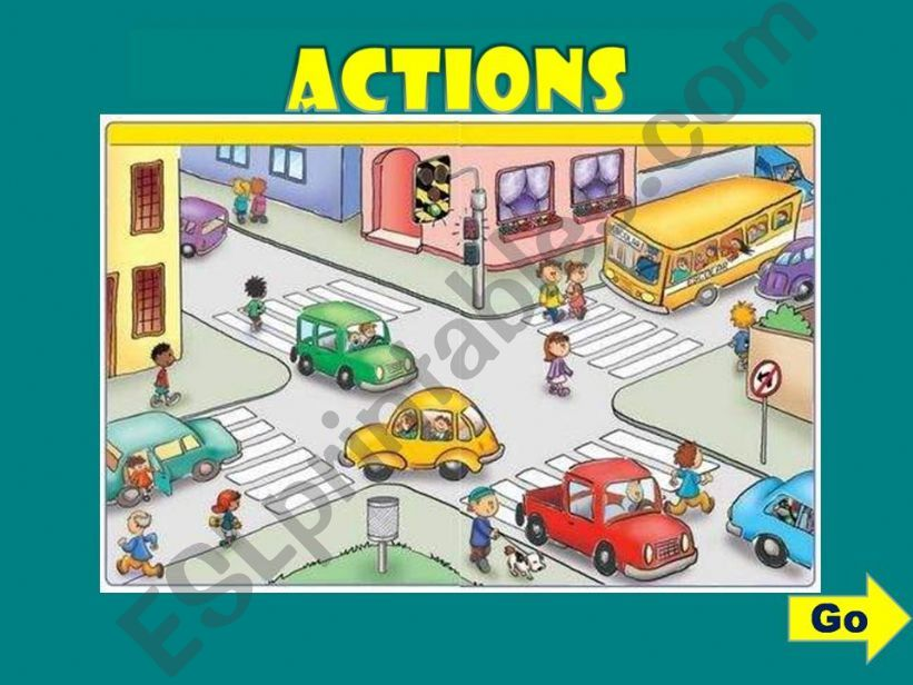 ACTIONS - GAME (3) powerpoint