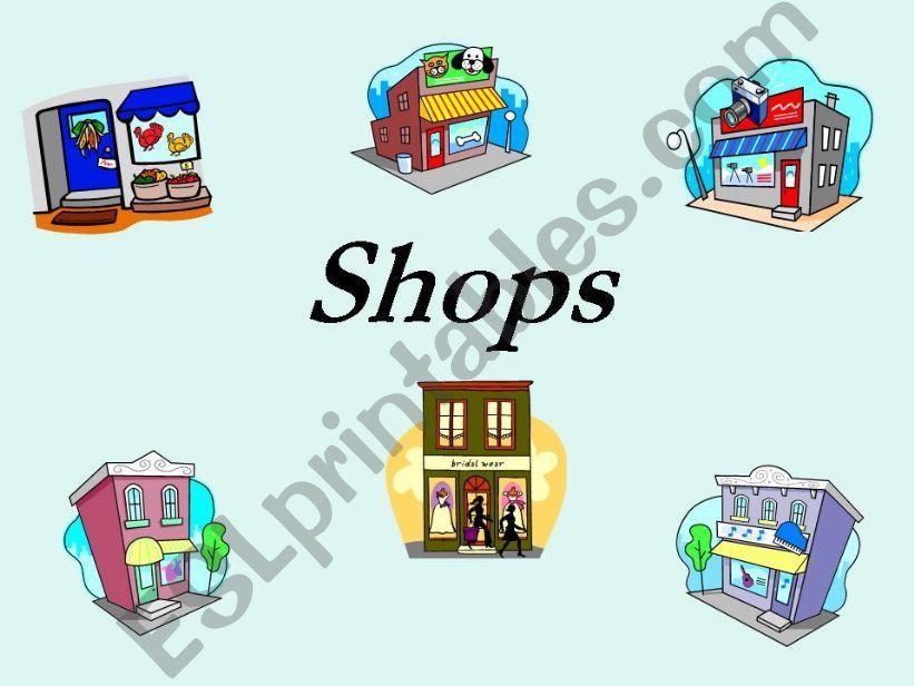 Shops powerpoint