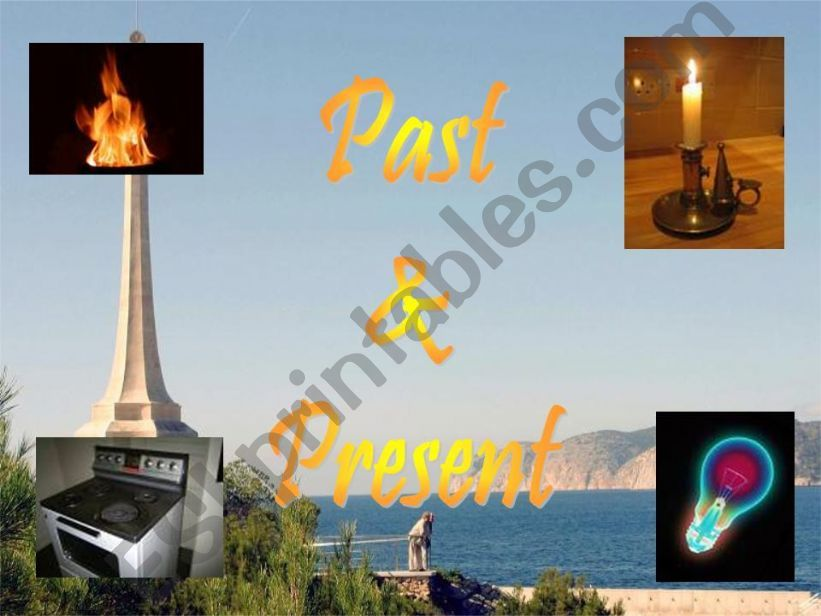 Past and Present powerpoint