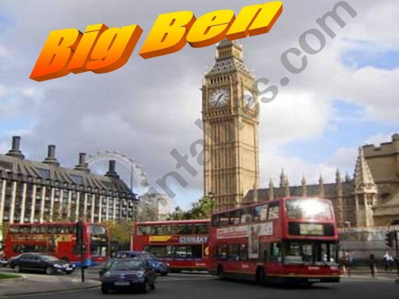 Big Ben powerpoint