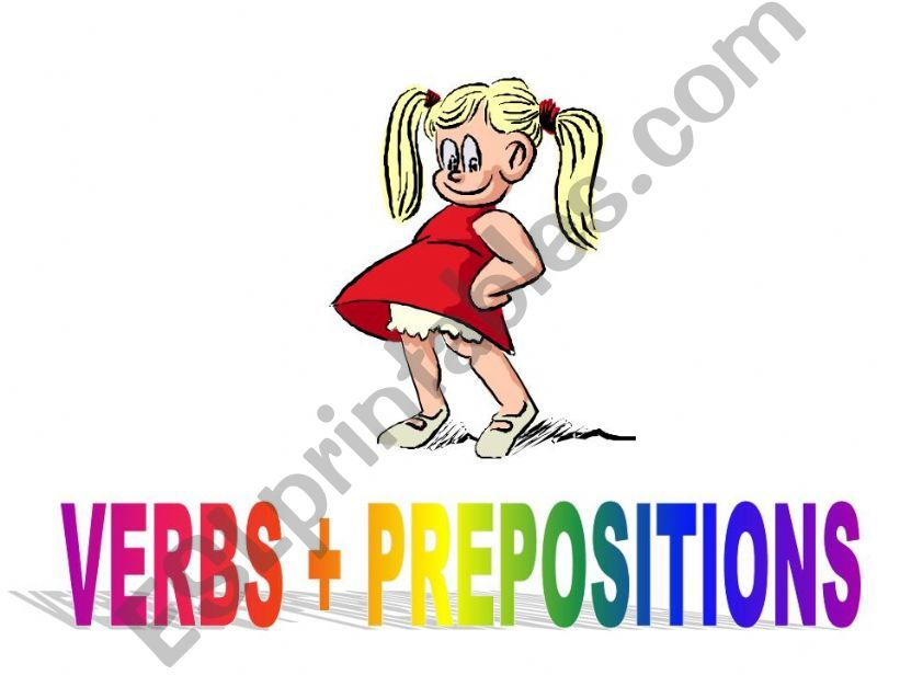 Verbs + Prepositions powerpoint