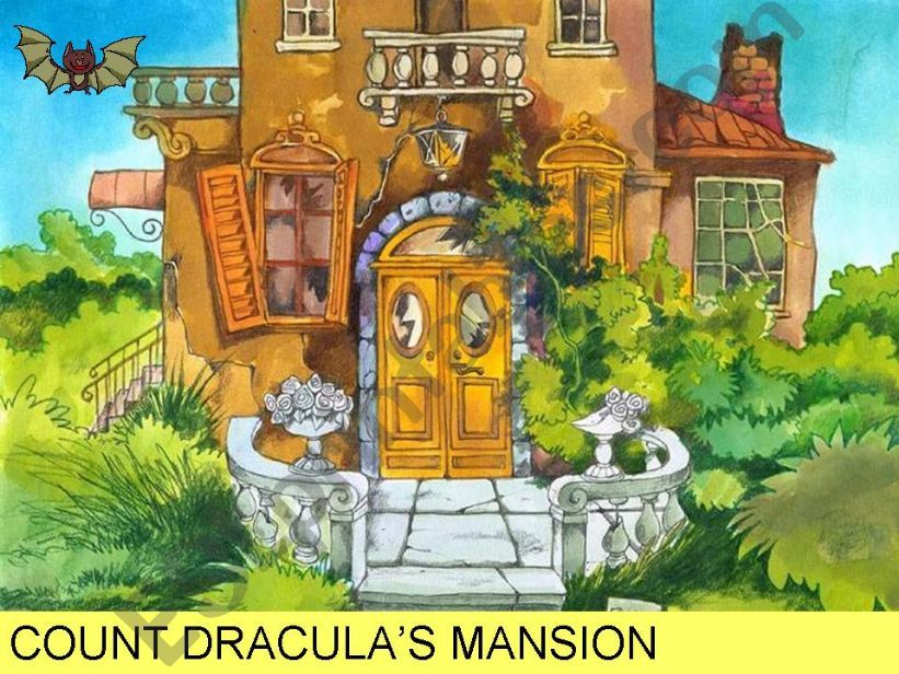COUNT DRACULA´S MANSION powerpoint