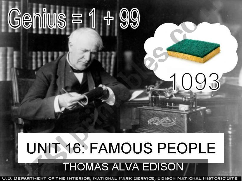 Thomas Alva Edison _ a great inventor