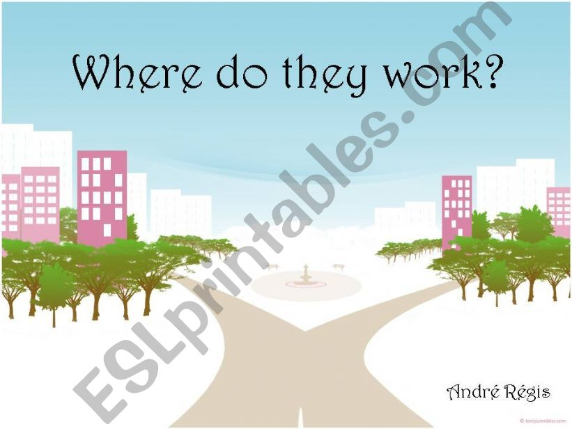 Work places powerpoint