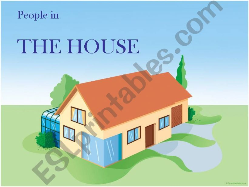 Rooms in the house and actions
