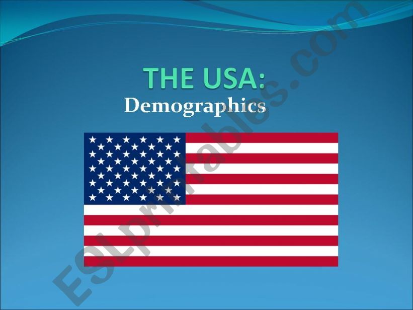 The USA powerpoint