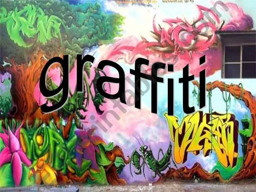 Graffiti powerpoint