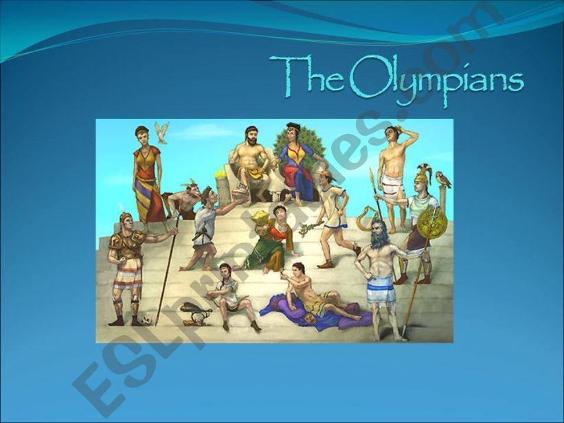 The Olympians ppt powerpoint