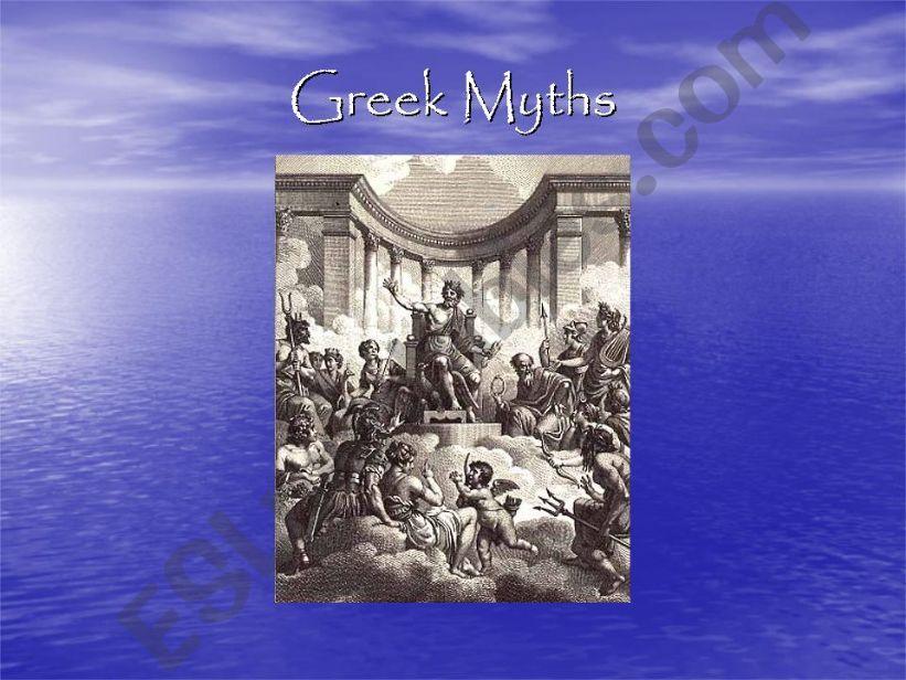 Greek Myths powerpoint