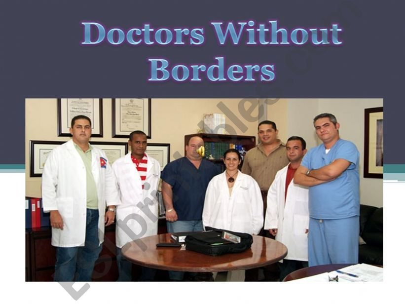 Doctors without Borders powerpoint