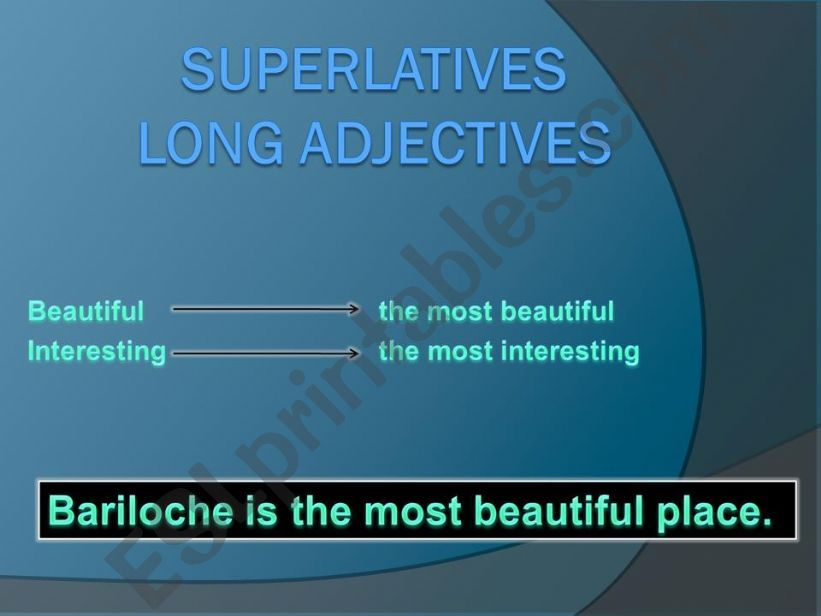 Superlatives powerpoint