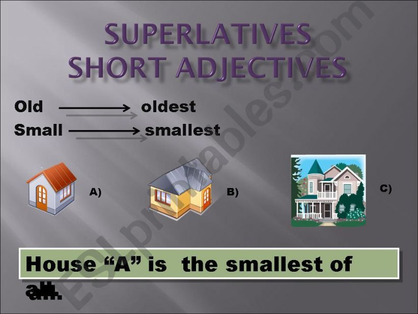 superlatives powerpoint