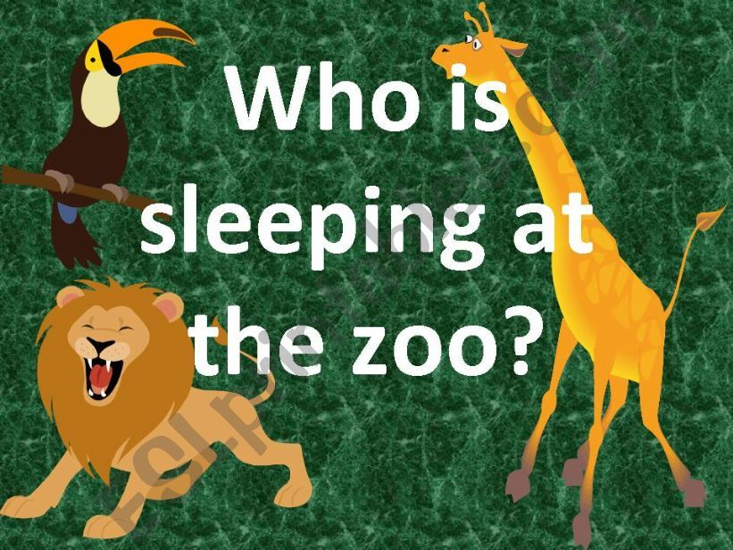 Zoo Animals powerpoint
