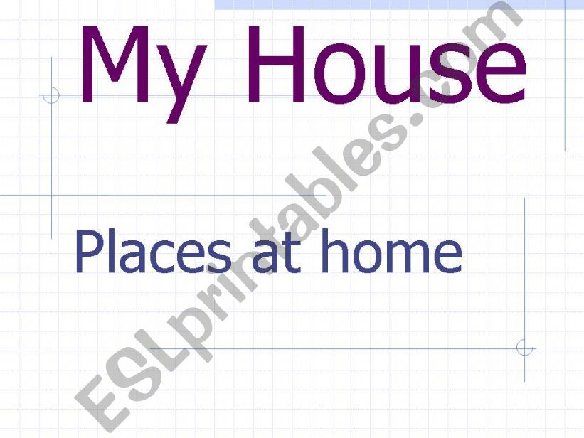 The parts of the house powerpoint